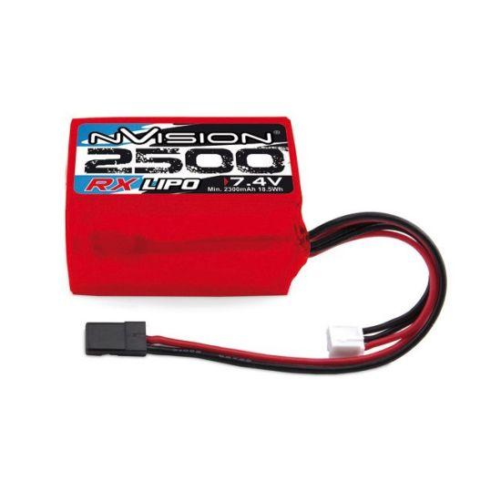 Batterie 2S LiPo 7.4V-2500 mAh