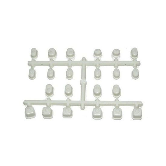 Bagues suspension Inferno MP9 Blanc IF442W