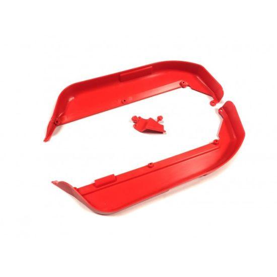 Bavettes latérales rouges IFF002KR