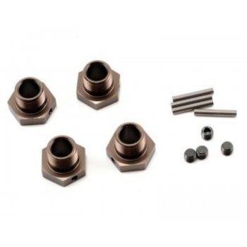 Hexagones de roues gun métal IFW107GM