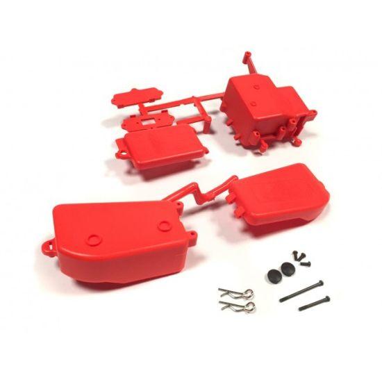 Boitier récepteur/ batterie IFF001KR rouge