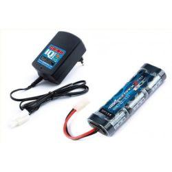 Combo chargeur IQ801 + Accu 7.2v Nimh 1800mAh