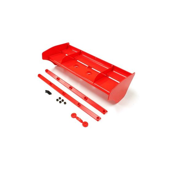 Aileron 1/8 nylon rouge  IF491KR