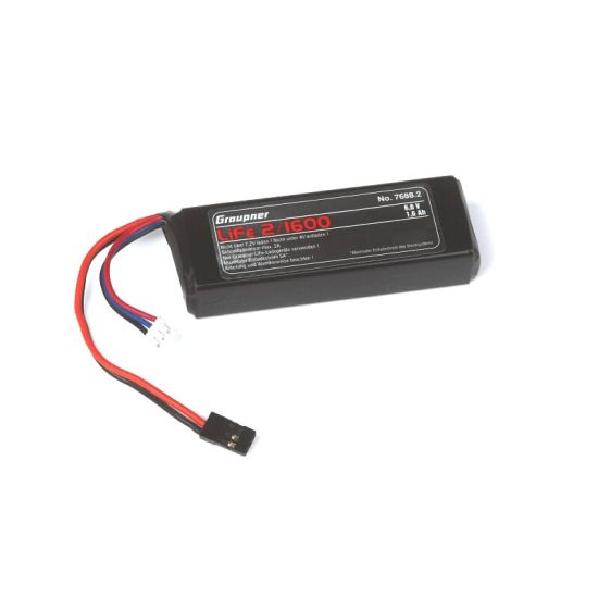 Accu de réception LiFe 2S/1600mAh 6,6V JR
