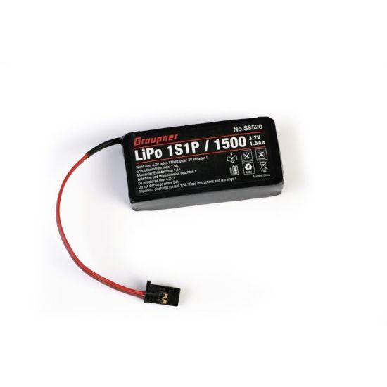 Batterie Lipo 1S 3.7V 1500mAh