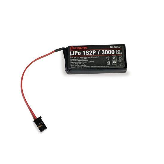 Batterie Lipo 1S 3.7V 3000mAh