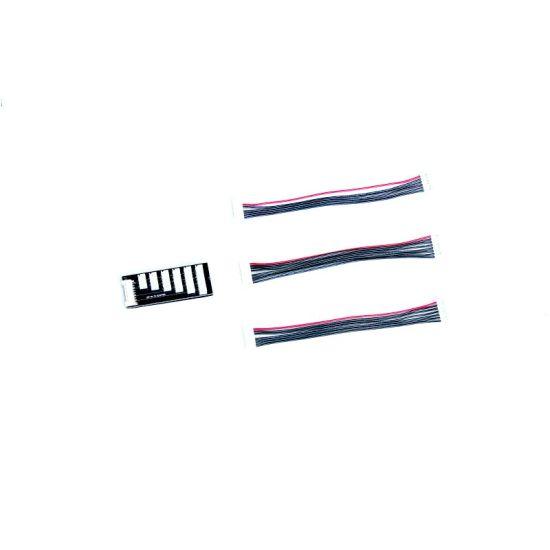 Cordon et plaque adaptateur balanceur 2-7S JST-XH GRAUPNER