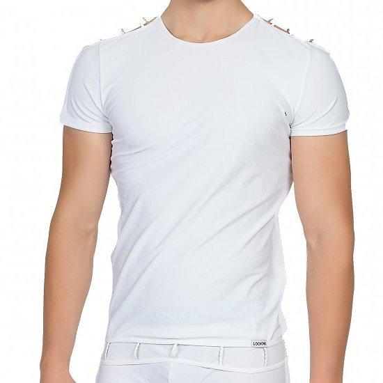 TShirt Blanc ajouré aux Epaules