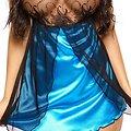 Nuisette Satinée Bleue