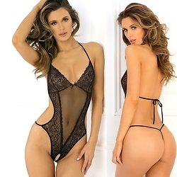 Body Ouvert String Ficelle