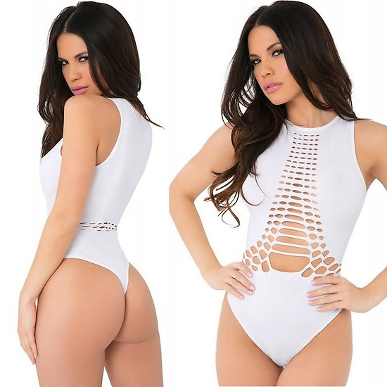 Body String Blanc