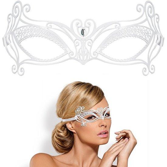 Masque Métallique Blanc