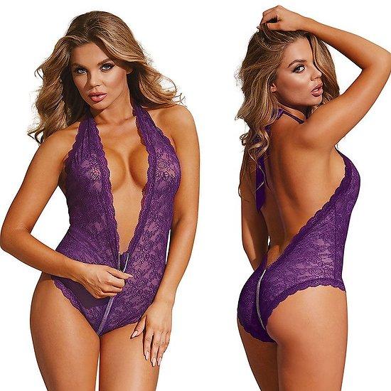 Body Violet à Zip