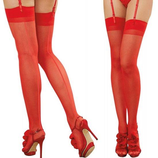 Bas Nylon Rouges