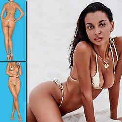 Bikini String Doré