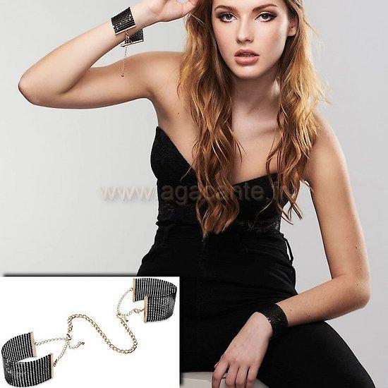 Bracelets Menottes Noir