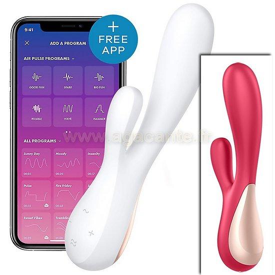 Vibromasseur Vaginal et Clitoridien