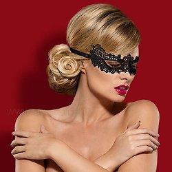 Masque Guipure Noir