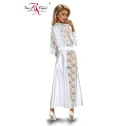 Peignoir Long Blanc