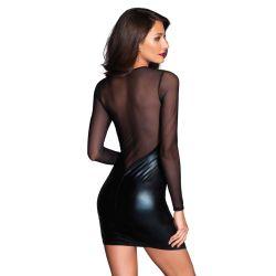 Robe Courte Haut Transparent