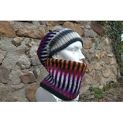 Kit Tricot Bonnet + Col Ultra