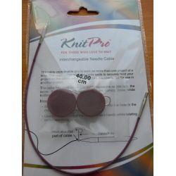 Cable 40cm pour aiguilles circulaires Knit Pro