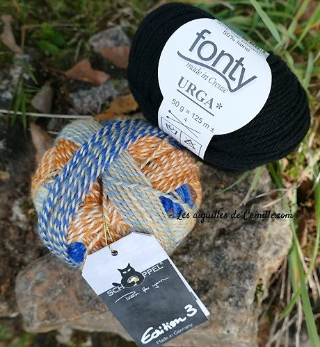 Kit Tricot Bonnet Lune de Miel à Ipanema