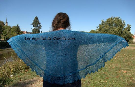 Kit tricot Châle Amour Algasoie
