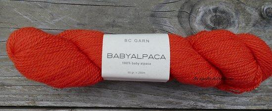 Babyalpaca Orange vif (n°57)