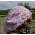 """Kit tricot bonnet """"Sur un petit nuage"""""""