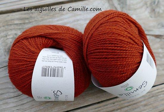 Semilla GOTS Orange brulé