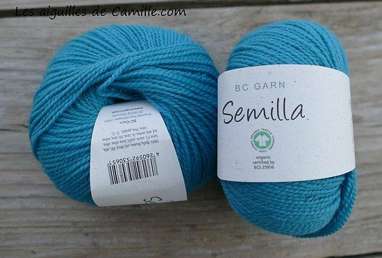 Semilla GOTS Turquoise
