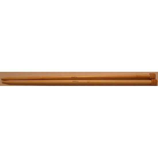 Paire d'aiguilles 33cm  en bambou 7 mm Prym
