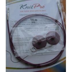 Cable 100cm pour aiguilles circulaires Knit Pro