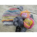 Kit Tricot Ensemble Fara Bonnet et Mitaines