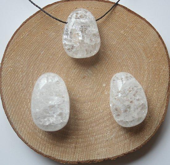 Cristal de roche craquelé