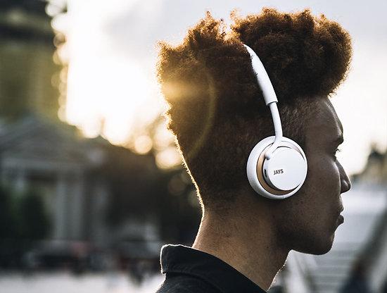 u-JAYS Wireless White/Gold