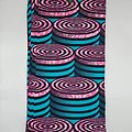 Pagne - Wax - Tonneaux - Bleu / Rose / Noir