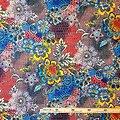 Coupon de tissu - Wax 100% coton - La ruche - Multi-couleurs