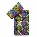 Pagne - Wax 100% coton - Psychédélique - Multi-couleurs