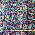 Pagne - Wax 100% coton - Fleurs - Multi-couleurs - Hitarget