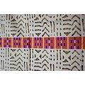 Coupon de tissu - Wax - Graphique - Multicolore