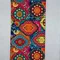 Pagne - Wax - Psychédélique - Multi-couleurs