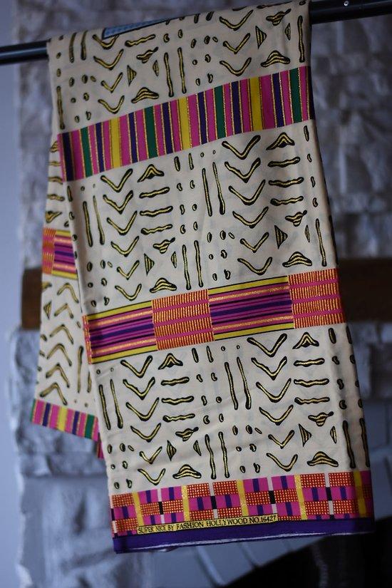 Pagne - Wax - Graphique - Multicolore