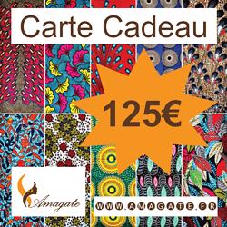 Carte Cadeau 125€