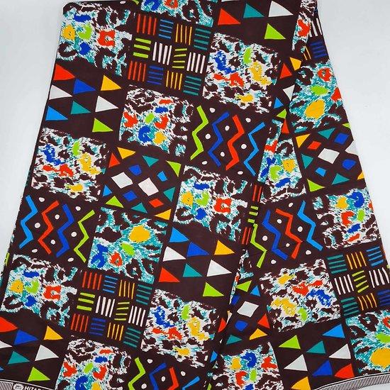 Pagne - Wax - Graphiques - Multi-couleurs