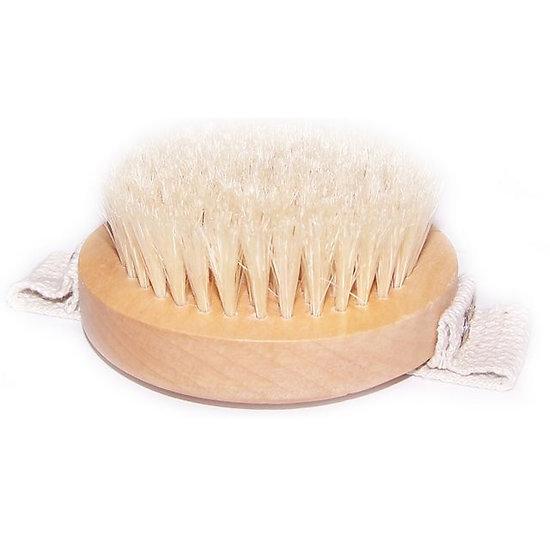 Brosse Gommage Spécial Corps avec anse à poils doux