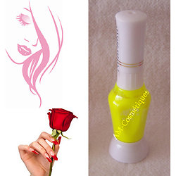Stylo vernis ongles Nail Art JAUNE Fluo pour dessins ongles - Yes Love
