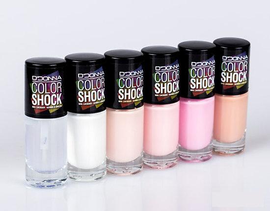 Vernis à Ongles Color Shock gamme Rose - D'Donna