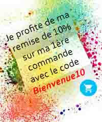 Créez votre compte Beauté et bénéficier de -10% sur votre 1ère commande, avec le code Bienvenue10